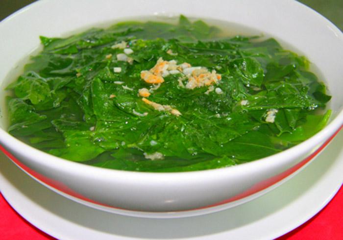 Rau ngót nấu tôm khô đơn giản mà vô cùng bổ dưỡng