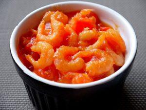 Tôm khô sốt cà chua thơm ngon, ăn là mê